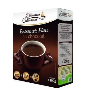 ENTR. FLAN CHOCOLAT 1.1KG