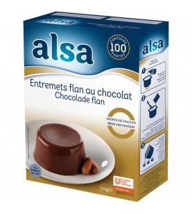 ENTREMET FLAN CHOCOL 1.1KG...