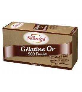 GELATINE OR 500 FEUILLES...