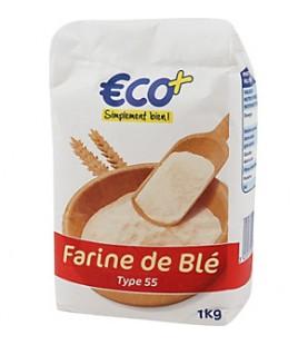 FARINE DE BLE TYPE 55 1KG ECO+