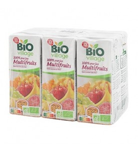 PJ MULTIFRUITS BIO 6X20CL BIOV