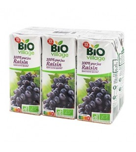 PUR JUS RAISIN BIO 6X20CL