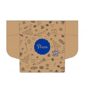 BOITE PIZZA CALZONE X100