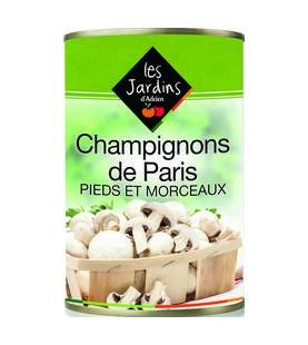 CHAMPIGNONS DE PARIS PIED