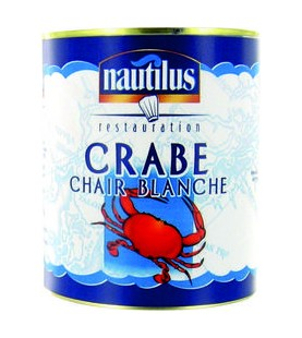 CHAIR DE CRABE BLANCHE