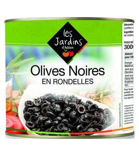 OLIVES NOIRES EN RONDELLES A10