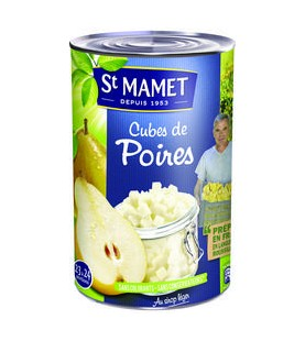 CUBES DE POIRES WILLIAMS 5/1