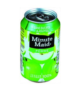 MINUTE MAID POMME ABC 33CL