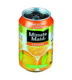 MINUTE MAID ORANGE BTE 33CL