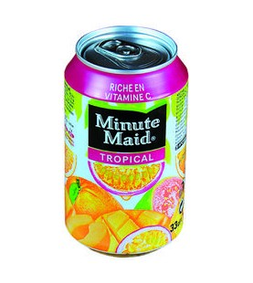 MINUTE MAID TROPICAL BTE 33CL