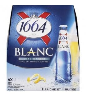 BIERE 1664 BLANC 6X25CL