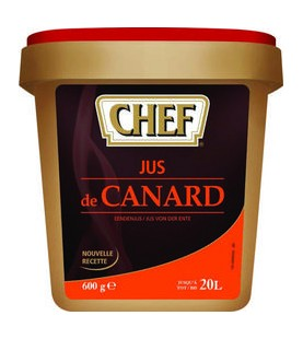 JUS DE CANARD 600G (20L)