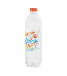 EAU ARO PECHE O'FRESH PET 1.5L