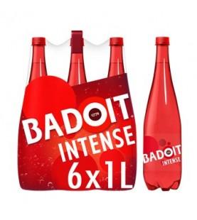 BADOIT ROUGE EAU GAZEUSE 6X1L