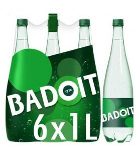 BADOIT VERTE PET 6X 1L