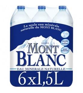 EAU MONT BLANC 6X1,5L