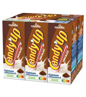 LAIT CHOCOLAT CANDY'UP 6X20CL