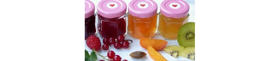 Confitures - Fruits au sirop - Pâtes à tartiner
